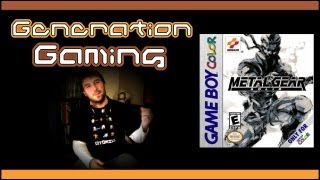 Génération Gaming - #1 : Metal Gear Solid Ghost Babel (GBC)