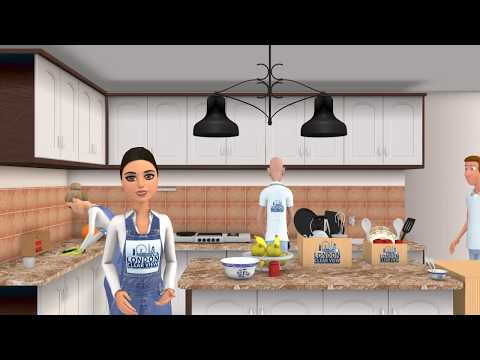 Home cleaning services presentation video for London clear view by KCGI