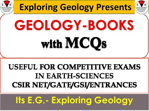 GEOLOGY Objective BOOKs (with MCQs) for CSIR-NET/GATE/GSI