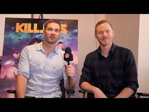 Luke Macfarlane & Aaron Ashmore: Killjoys season 2