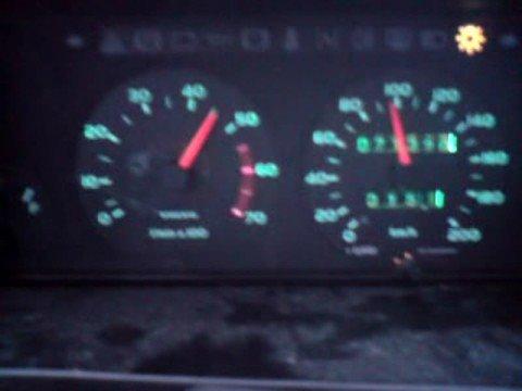 Volvo 340 Variomatic 0-120 Km/h Acceleration