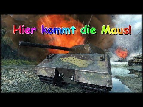 world of tanks live hier kommt die maus deutsch gameplay youtube. Black Bedroom Furniture Sets. Home Design Ideas