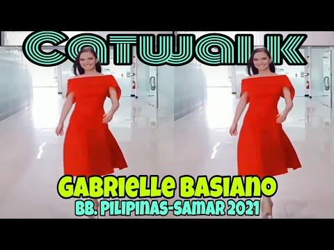 Bb. Pilipinas-Samar Gabrielle Basiano Pasarela