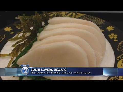 Beware Sushi Menus That Offer 'white Tuna' Or 'white Maguro'