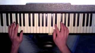 Dance with me - Debolah Morgan, easy piano cover