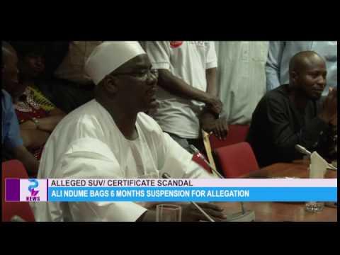Ali Ndume Bags 6 months suspension allegation