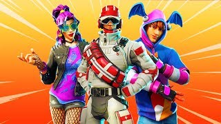 TOUS les FORTnite v5.4 SKINS et COSMETICS! (Synth Star, Stage Slayer, Triage Trooper, Hacivat...)