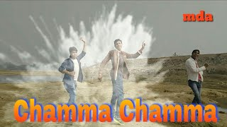 Chamma chamma song dance choreography video by Ramesh sir
