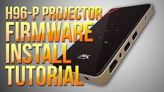H96-P DLP Portable Projector: Android Firmware Recovery Reinstall Update Tutorial