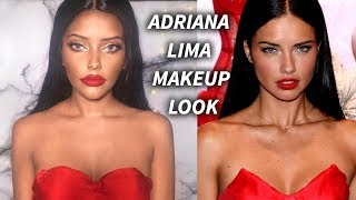 Adriana Lima Makeup Look ♡ Anncy Twinkle