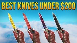 CSGO - Best Knives Under $200 (2017)