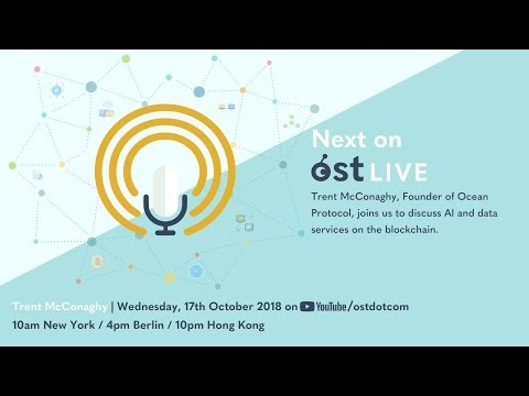 OST LIVE #025: Ocean Protocol, AI Data and Services on the Blockchain
