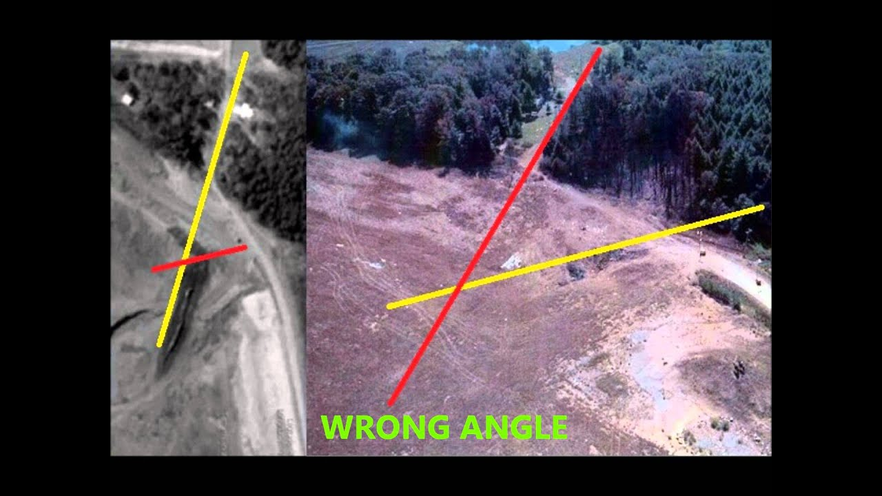 proof flight 93 crash site was faked? - YouTube