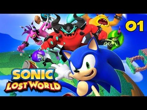 Sonic Lost World - Прохождение pt1