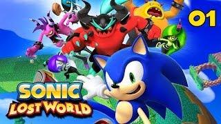 Sonic Lost World - Прохождение pt1(Прохождение игры