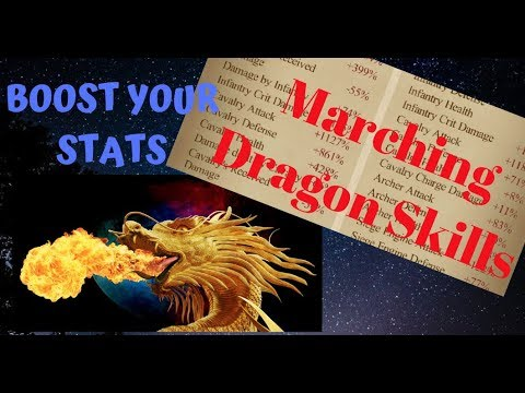 Clash Of Kings : BOOST YOUR STATS  - With Marching Dragon