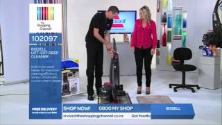 bissell lift off deep cleaner on the shopping channel