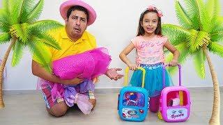 Laurinha e papai vão fazer uma viagem ✈️