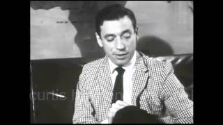 Yves Montand - Interview (1960)