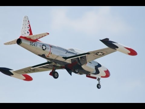 large scale rc lockheed t 33 shooting star mick burrell wings wheels rc model aircraft show. Black Bedroom Furniture Sets. Home Design Ideas