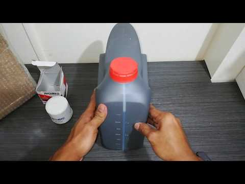 Unboxing Hyundai Xteer Gasoline Ultra Protection 5W-30 Fully Synthetic Oil Change Bundle from Lazada