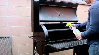 How to Season your BBQ Pit - GatorPit