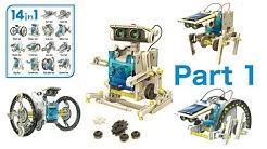 14 in 1 Solar Robot Kit - (Part1)