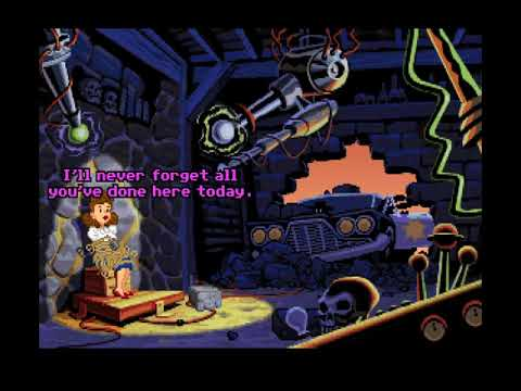 Let's Play Sam And Max Hit The Road 01 - Clicktastic Credits |