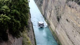 Коринфский канал, Греция(Коринфский канал. Греция. Фотоаппарат Nikon D7000., 2011-07-03T13:53:46.000Z)