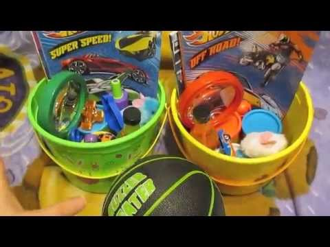 Easter basket ideas for boys youtube negle Choice Image