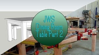Build a Dining Room Table Set - Part 2 (The base)