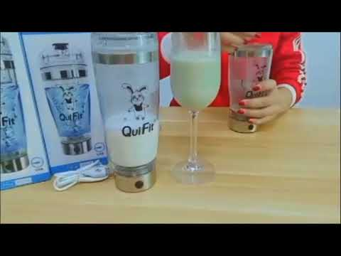 quifit-:-electric-vortex-shaker-,best-protein-mixer,-nutrition-blender-partner-!!!