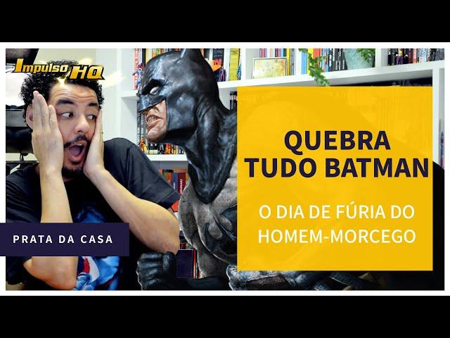 O Bat-barraco do Homem-Morcego em rede nacional de televisão