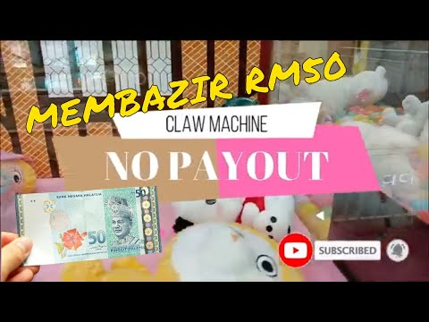 Claw Machine | Membazir Rm50 ?? | No Payout | Arcade Malaysia