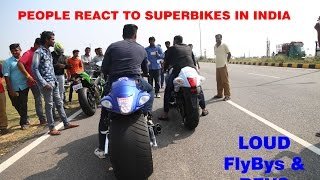 Superbike Reactions In INDIA - Mysore/BikersIN