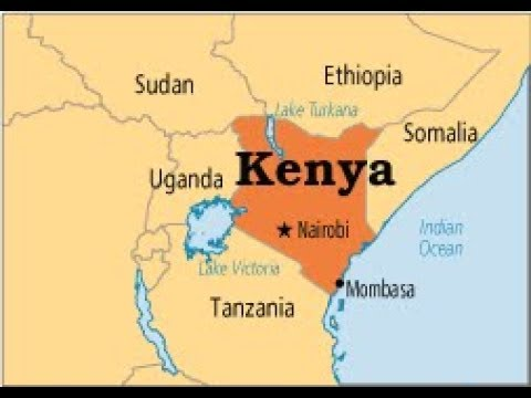 East African Countries Map Youtube
