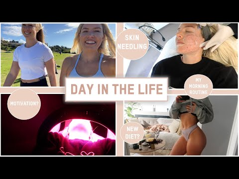 BODY UPDATE, MOTIVATION, SKIN, FOOD - DAY IN THE LIFE VLOG