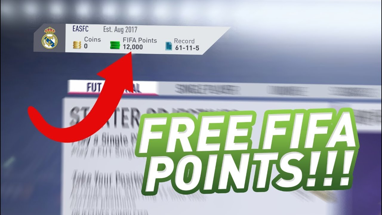 Image Result For How To Get Free Coins In Fifa