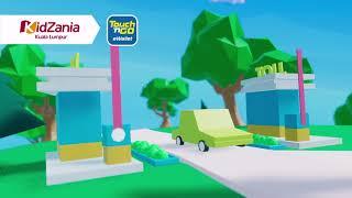 Kidzania x TouchNGo Interactive Display