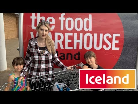 SPENDING £100 AT ICELAND WAREHOUSE CHALLENGE