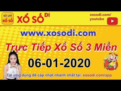 Trực tiếp Xổ Số hôm nay ngày 06/01/2020 - Kết Quả Xổ Số Miền Bắc - Xổ Số Miền Nam - XSMB, XSMN, XSMT