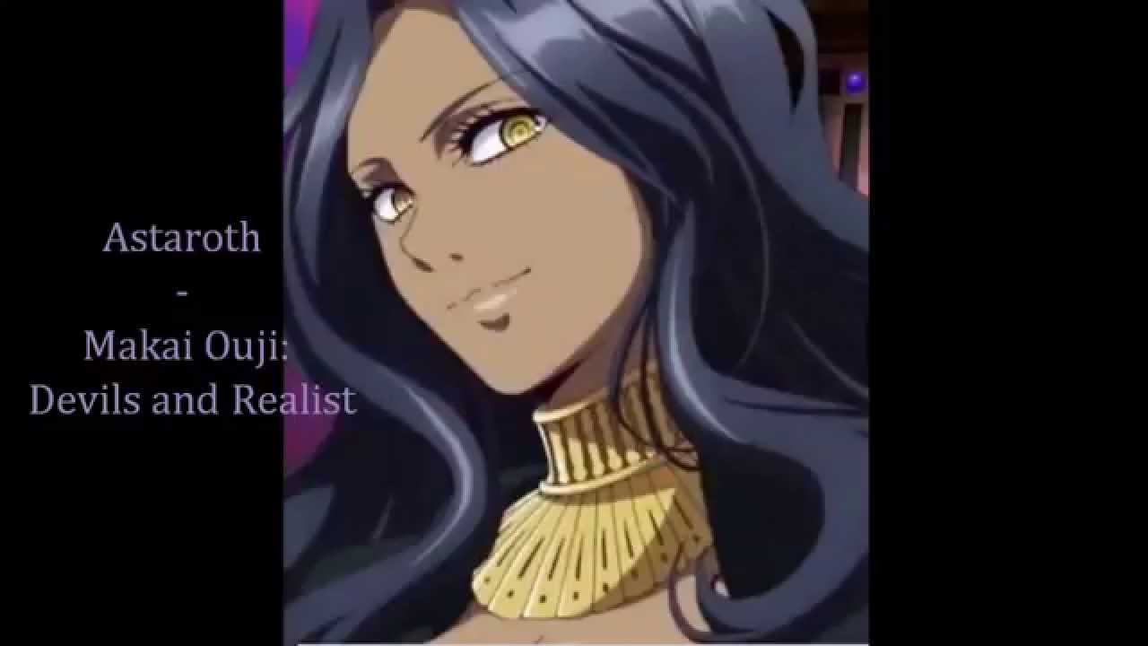 Dark Skin Female Anime Characters 2