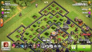 LavaLoonIon Attack | Core Destroying | Diaries of BANGLADESH WC | Clash of Clans.