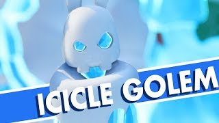 Mario and Rabbids: Icicle Golem Boss Fight
