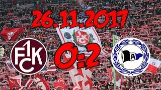 1. FC Kaiserslautern 0:2 DSC Arminia Bielefeld - 26.11.2017 - ...