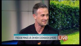 Freddie Prinze Jr. on New Cookbook