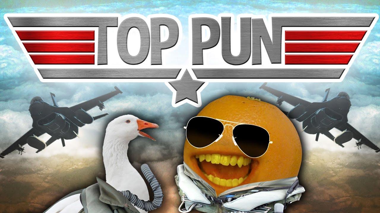 Annoying Orange - TOP PUN! (Top Gun Spoof!)