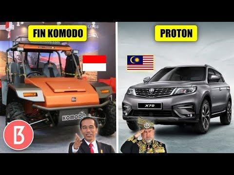 Di Incar Negara Lain! Perbandingan Kecanggihan Mobil Karya Anak Bangsa Indonesia, Malaysia Dan China