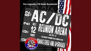 Shake Your Foundations (Live FM Broadcas Remastered) (FM Broadcast Reunion Arena, Dallas TX...