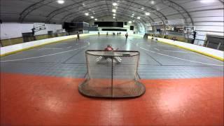 Aces vs Central Ball Hockey Goalie Go Pro